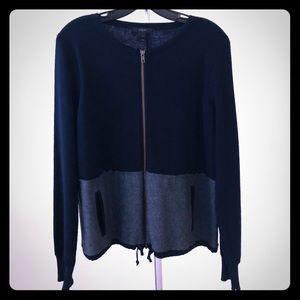 J. CREW - Knit Zip-up Jacket